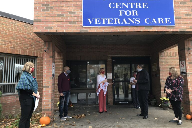 EESA Group donates breakfast to Tony Stacey Centre for Veterans Care
