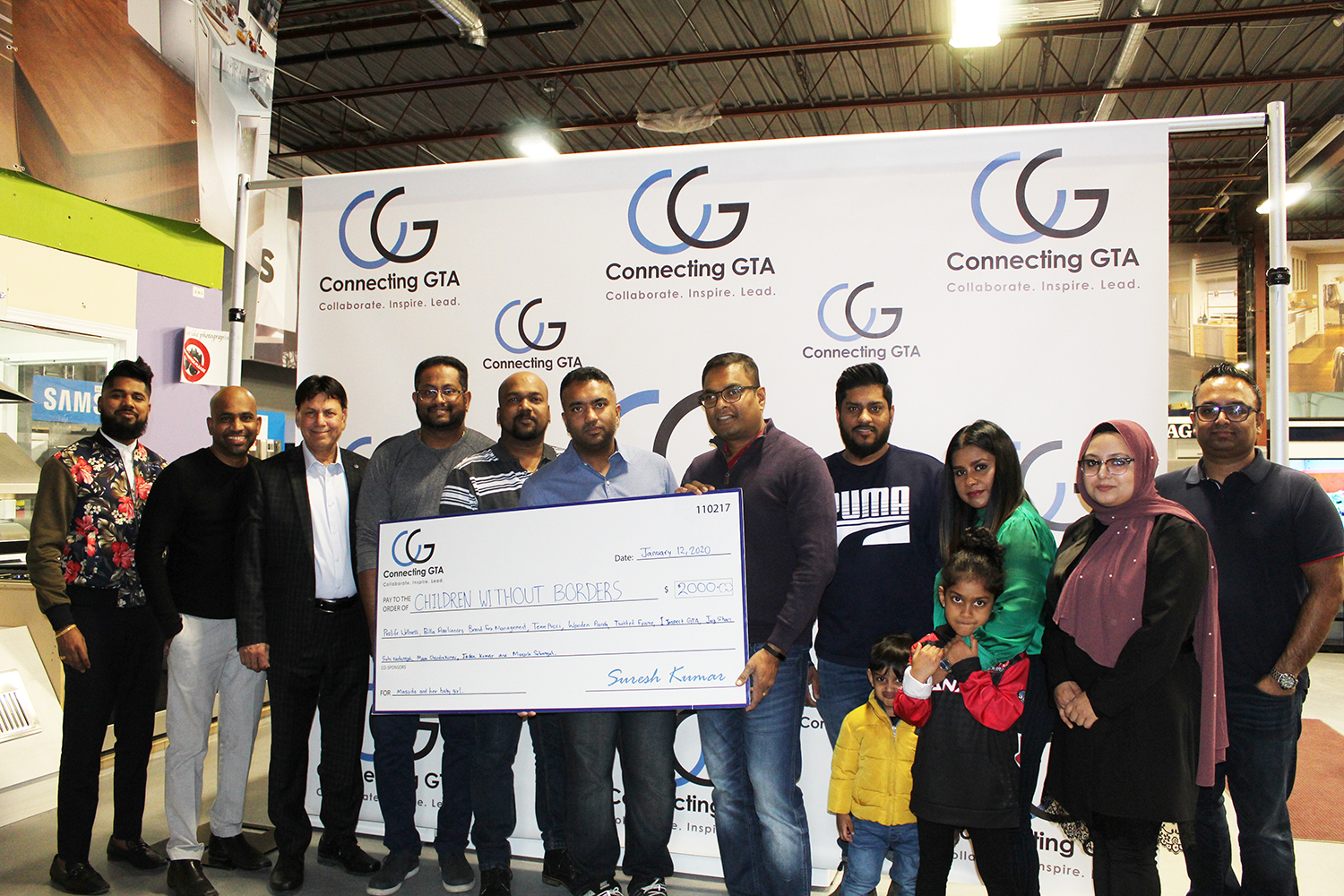CGTA members unite to help a young refugee mom and her newborn!